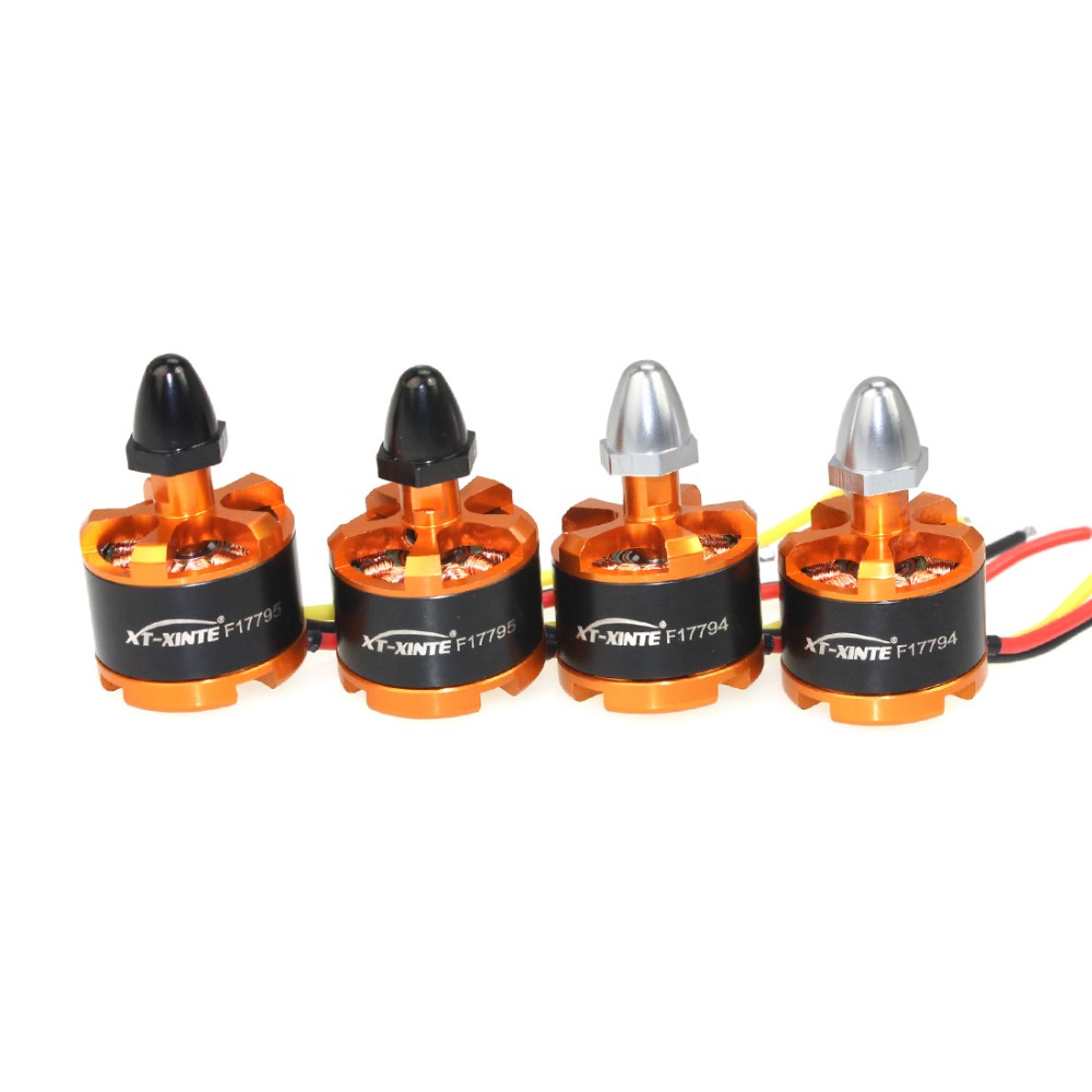 цена на 4pcs/lot 920KV CW CCW Brushless Motor for DIY 3-4S Lipo RC Quadcopter F330 F450 F550 for DJI Phantom Cheerson CX-20 Drone