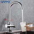 GAPPO wasser filter wasserhähne Küche Wasserhahn mischer torneira de cozinha wasser wasserhähne spülbecken mischer kran waschen für Küche Waschbecken Küchenarmaturen Heimwerkerbedarf -