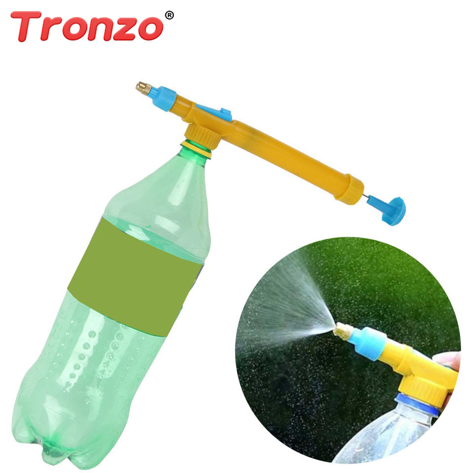 Tronzo Juice Bottles Trolley Gun Plastic Sprayer Head Water Pressure For Garden Bonsai Outdoor Fun And Sports Toys For Children