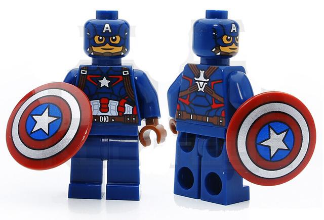 8pcs/set Super Hero Marvel Avengers Building Blocks