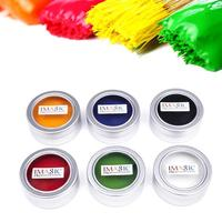 IMAGIC 6 Colors Body Painting Flash Tattoo Face Paint Halloween Makeup Temporary Glowing Painting 6 Pcs