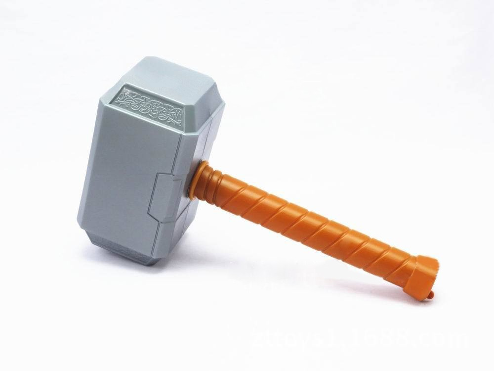 Avengers Super Heroes Thor Hammer Cosplay Toy Plastic Hammer of Thor God Replica Prop War Weapon Juguete Kids Brinquedo Toys Avengers Super Heroes Thor Hammer Cosplay Toy Plastic Hammer of Thor God Replica Prop War Weapon Juguete Kids Brinquedo Toys
