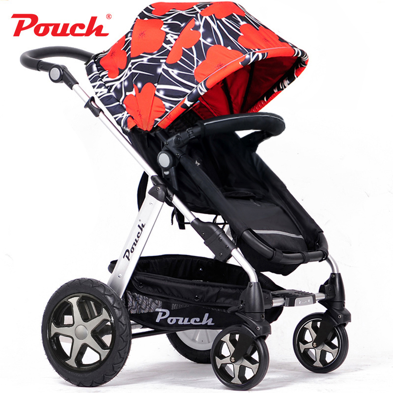 Stroller pouch baby child car baby stroller suspension light folding bb car