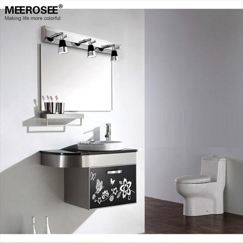 Compre Modern Led Mirror Apliques De Pared De Luz Contemporary Led ...