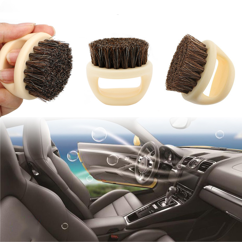 1PC Car Detailing Brushes Cleaning Tool For Interior