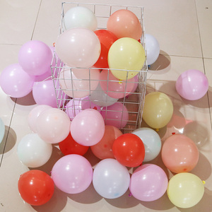 Image 3 - 100pcs/lot 5 Inch Macarons Color Double Layer Latex Round Inflatable Balloon For Birthday Party Decoration/Wedding/Engage