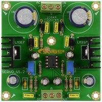 LM317 LM337 DC Servo Adjustable Voltage Regulator Board Positive And Negative Dual Band Rectification Filter