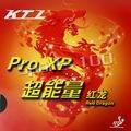 KTL Pro XP rojo-Dragon Pips-in Tenis de Mesa PingPong caucho con esponja
