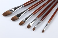 hot sale Mixed Weasel Hair paint brushes birch handle,economical paint brush art chinese brush,free shipping