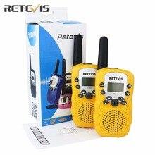 Пара Retevis RT-388 мини Портативная рация дети Радио 0.5 Вт 8/22CH ЖК-дисплей Дисплей любитель двусторонней Радио talkly детей трансивер