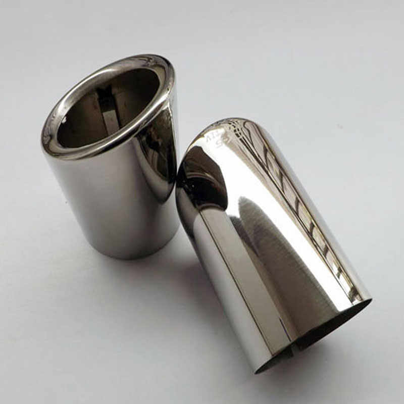 Stainless steel exhaust tip tail pipe muffler For <font><b>Mazda</b></font> CX-5 cx 5 <font><b>cx5</b></font> kf 2012 2013 2014 2015 2016 2017 2018 <font><b>2019</b></font> <font><b>accessories</b></font> image