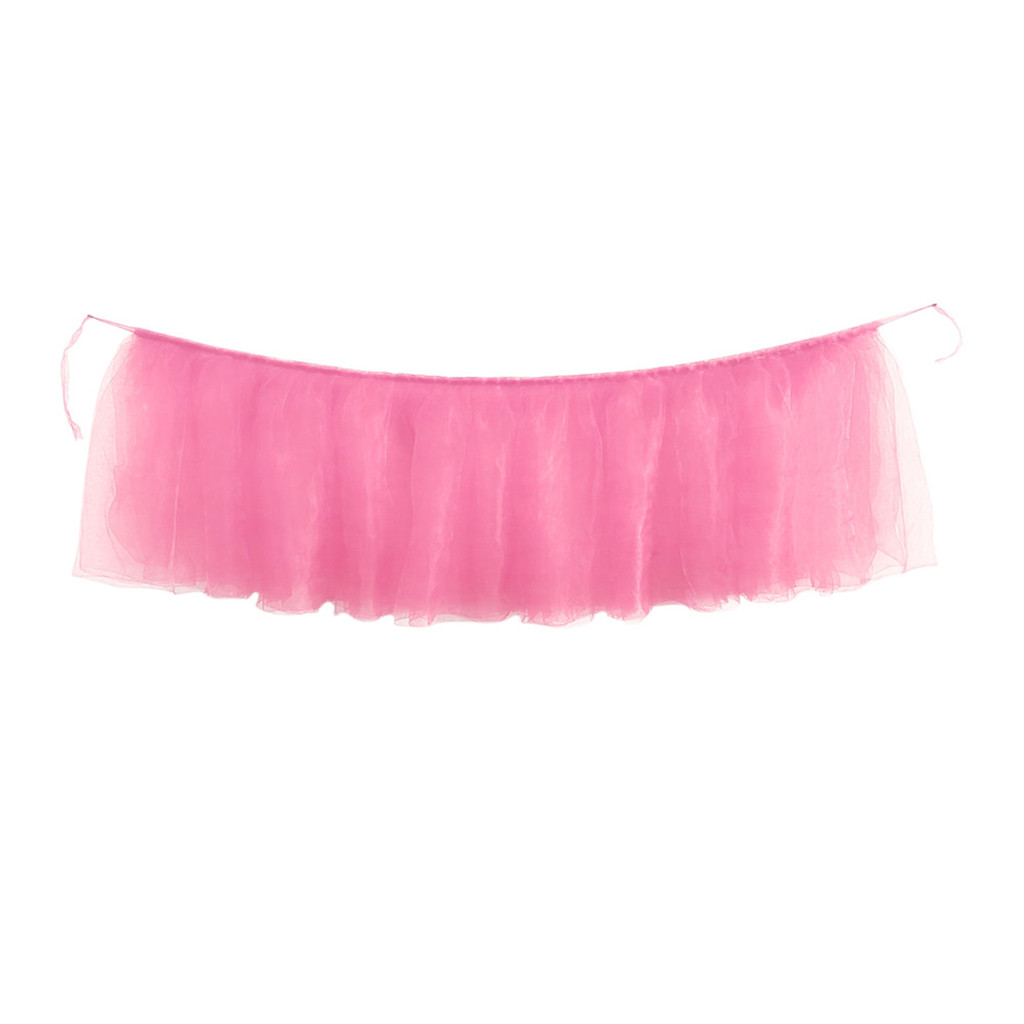 PinkMany Tulle Tutu Table Skirt Tulle Tableware For Wedding Decoration Baby Shower Party Wedding Table Skirting Home Textile 514