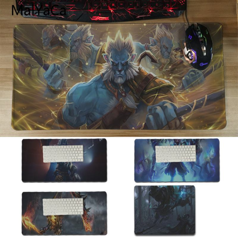 Yinuoda New Printed Cool dota2 role Anti-Slip Durable Silicone Computermats Size for 180*220 200*250 250*290 300*600*2mm