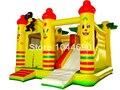 Envío gratis castillo inflable para los niños, inflable castillo de la princesa