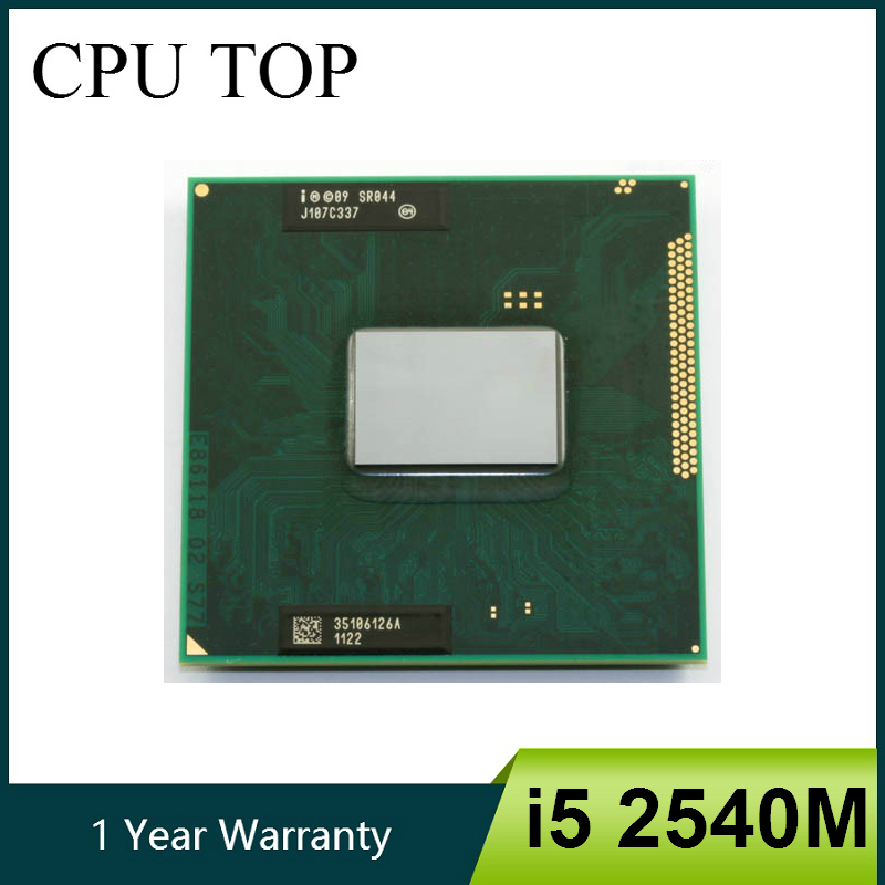 Intel Core i5 2540M 2.6GHz Dual Core Socket G2 Laptop CPU Processor SR044(China)
