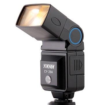 YinYan CY-28А Универсальный Горячий Башмак Флэш Speedlite свет вспышку для canon nikon pentax dslr камеры