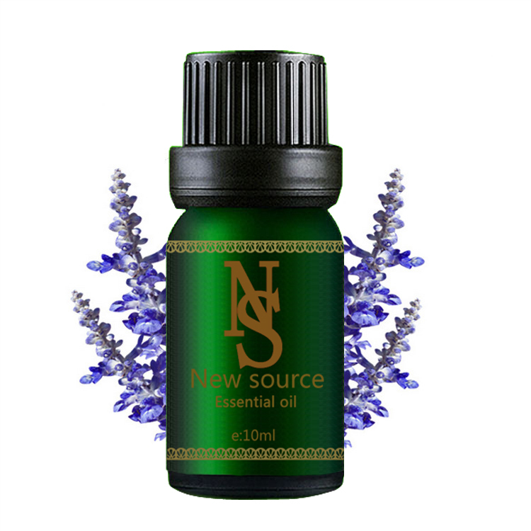Natural lavender 100% pure essential oil 10ml for remove acne, scar repair, help sleep, skin care massage oil,