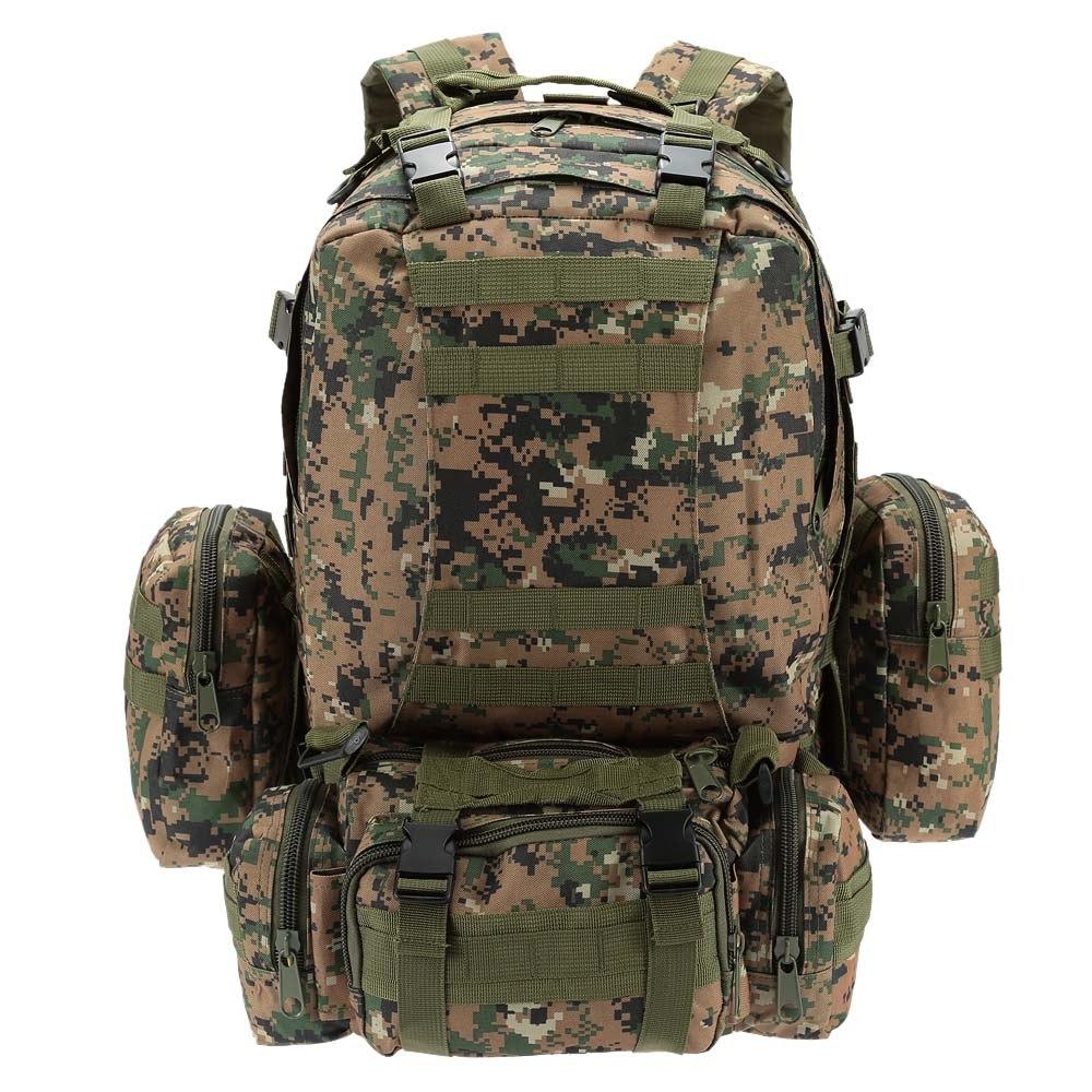 60L militaire hommes sac à dos tactique Camouflage sac à dos en plein air Sport escalade randonnée Camping Sport sac voyage sac à dos