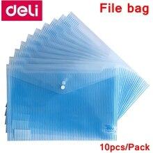 File-Bag Pocket Folder Documents Button Elastic Deli with Closure A4-Size Wholesale 5630