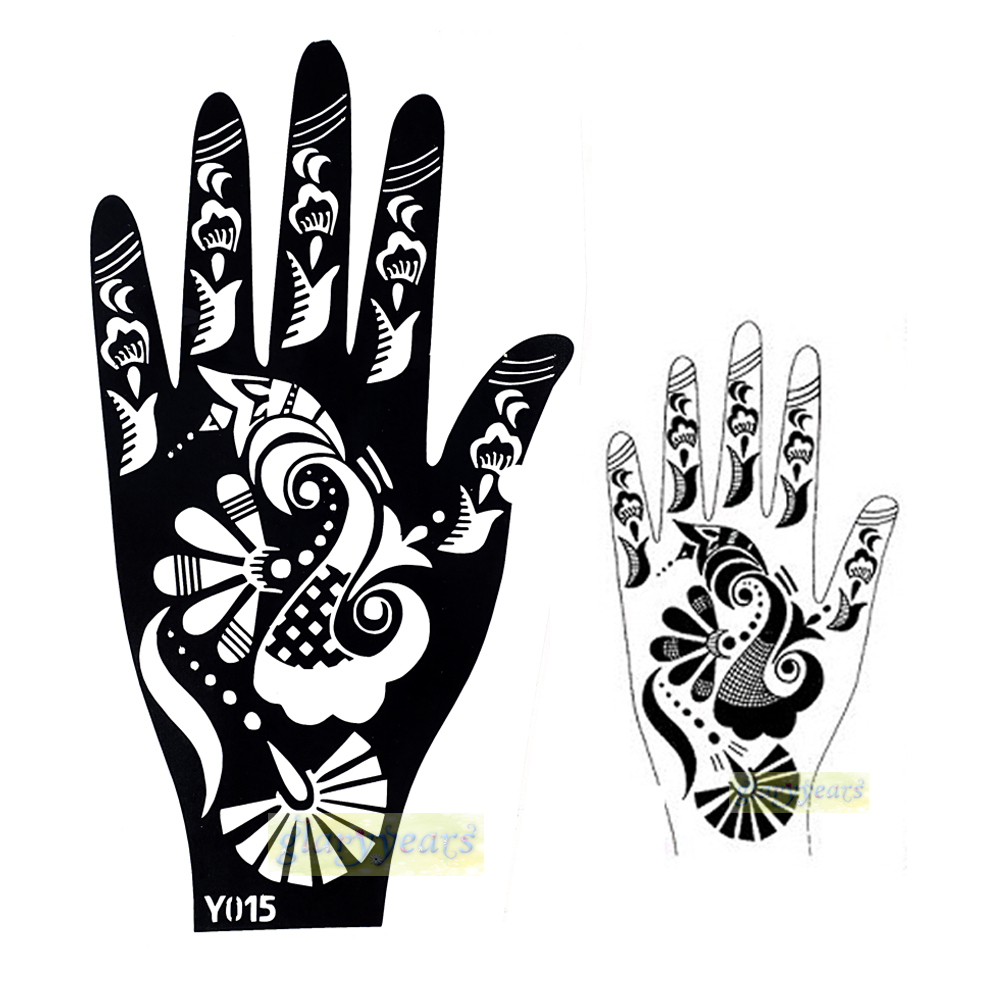Henna Stencils: Aliexpress.com : Buy 1pc Hot Large India Henna Tattoo