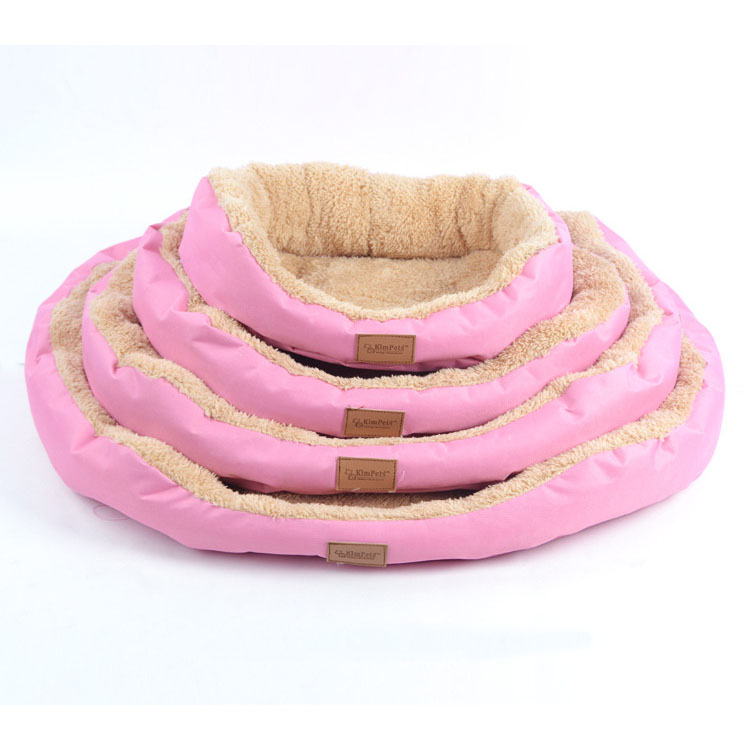 Camas para Mascotas Perro Gato Cachorro Nest Bed Soft Fleece caliente de la Casa