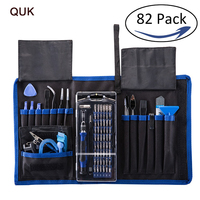 QUK Screwdriver Set Electronic Repair Tool Kit 82 In 1 Precision Torx 57 Bit Magnetic Driver For Phone Tablet PC Watch Hand Tool