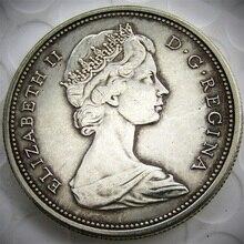 ФОТО canada 1967 1 dollar commemorative copy coins