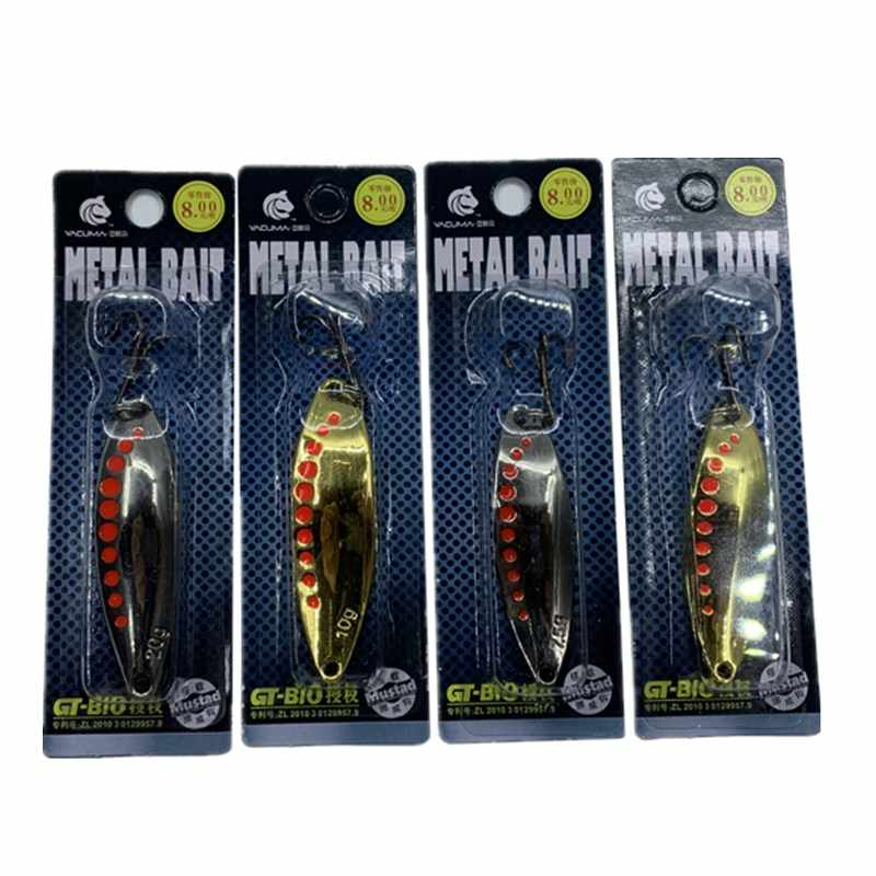 Details about  /Pack Of 5 Hard Fishing Bait With Hard Bait Artificial Fishing Lure Bait Hook