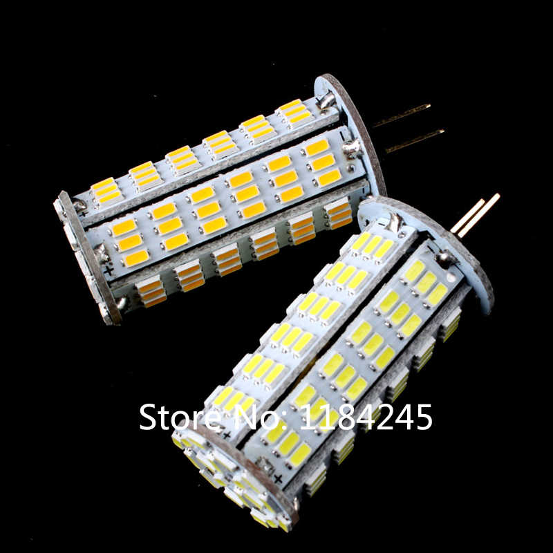 Ampoule Super lumineuse G4 126 LED 3014 SMD 7 W LED blanc chaud froid AC/DC 12 V lampes lumière