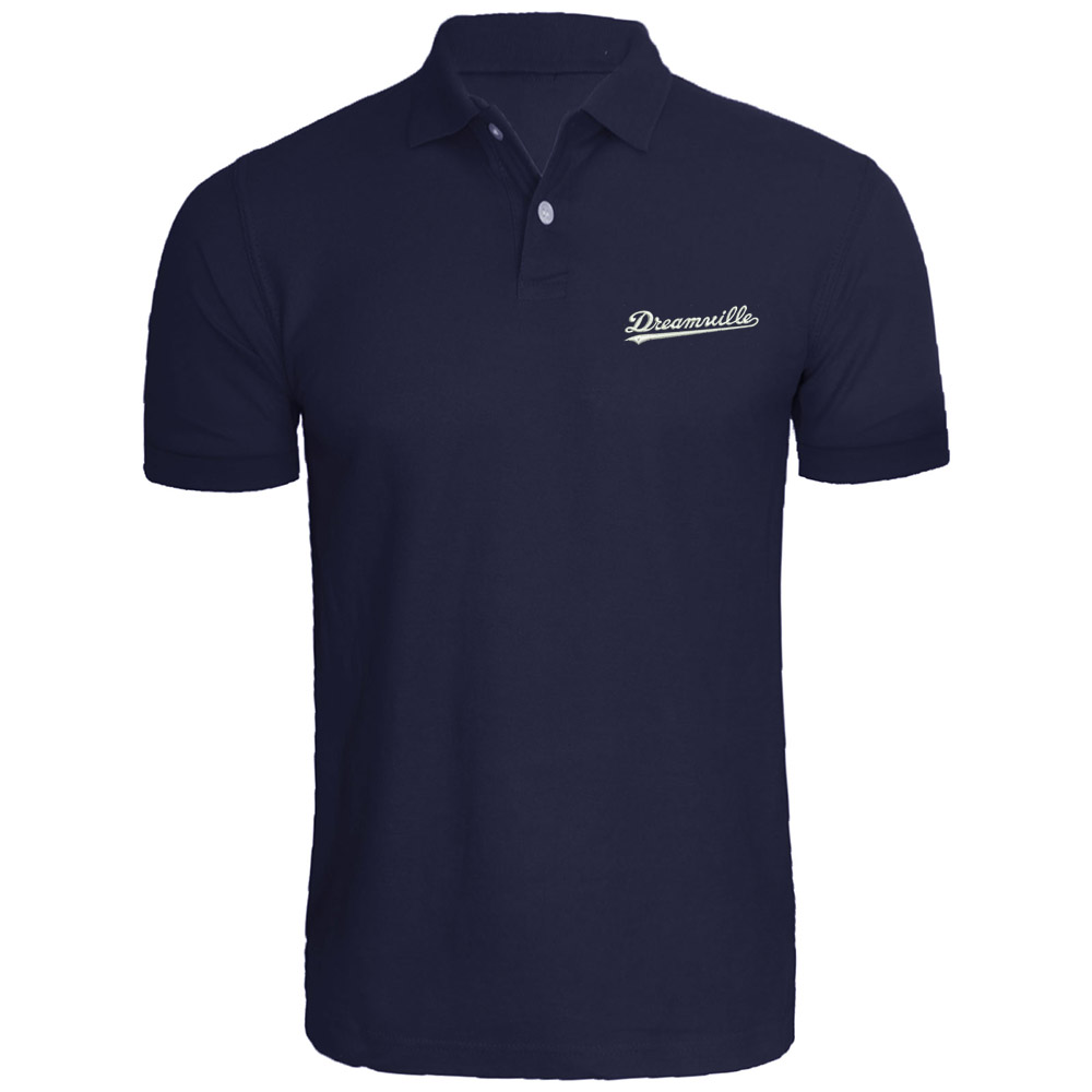 Mens Dreamville Records Music Fans Embroidered   Polo   Shirts