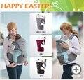 Verão Algodão Orgânico Recém-nascidos Estilingue Portador de Bebê Respirável Com Hipseat Canguru Ajustável Envoltório Mochila Estilingue Do Bebê Do Miúdo