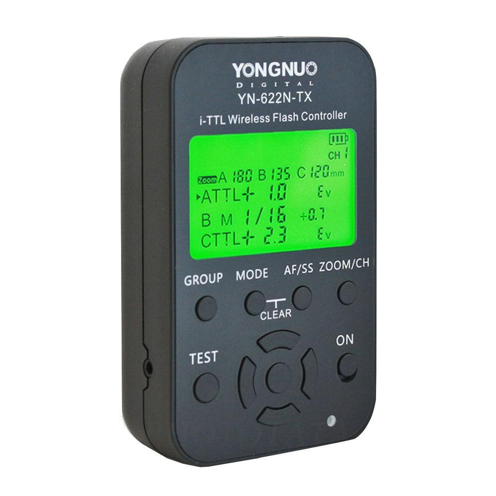 High Performance Yongnuo YN 622N TX LCD Wireless i TTL Flash Controller Trigger for Nikon DSLR