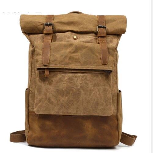 New Fashion Casual Canvas Men Backpack Retro Vintage Male Students School Bags Man Shoulder Bags Mochila Masculina armygreen цена