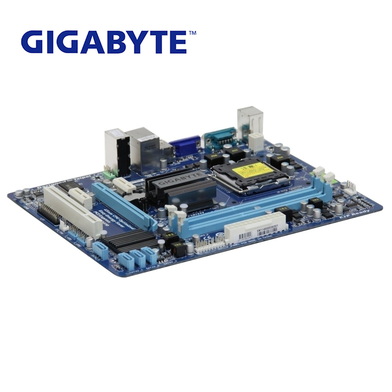 LGA 775 For Intel G41 100% Gigabyte GA-G41MT-S2P Motherboard DDR3 Desktop Mainboard For Core 2 G41MT-S2P DDR3 G41MT S2 P Used