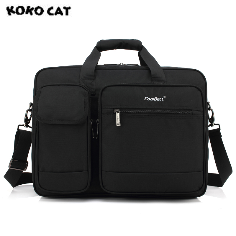 2017 KOKOCAT New Casual 15.6 inch Notebook Laptop Handbag for Men Women Briefcase Messenger Lady Nylon Solid Bags 3 Colors 5002 цена 2017