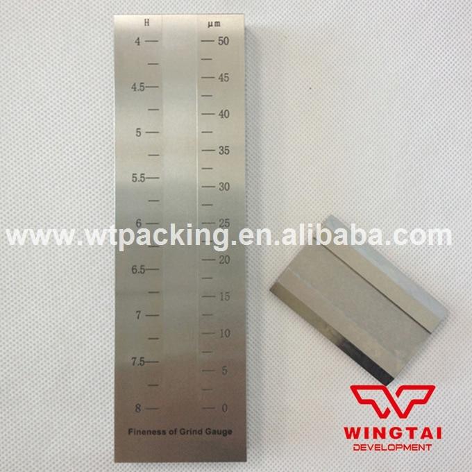 BGD241/2(0-оптоволоконных кабелей 50 мкм) из нержавеющей стали Скребок Мелкости Датчик/hegman растереть датчик/датчик краски