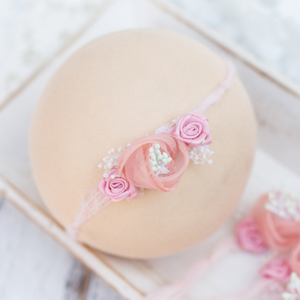 Newborn Baby Headband photography props Pearl Flower Headband Fashion Baby Girl Head Hair Band Accessories Children Photo Props стоимость