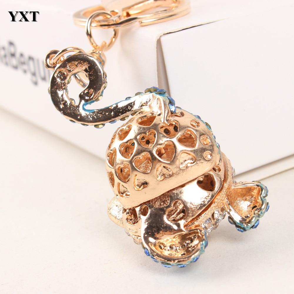 Cute Keyring Charm Pendant Bag Purse Key Chain Ring Keychain Girls/' Gift AL