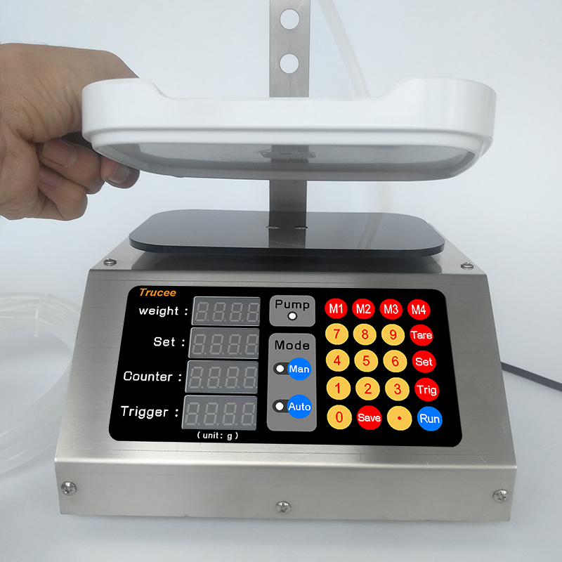 CSY-1810S  Weighing Automatic Quantitative Filling Machine Liquor Water Beverage  And Other Liquid Quantitative Filling Machine