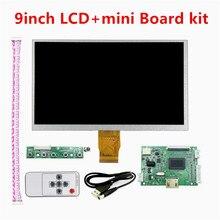 9 дюймов 1024*600 мини экран дисплея матрица TFT ЖК-монитор HDMI небольшой драйвер платы ttl контроллер вход для raspberry pi панели