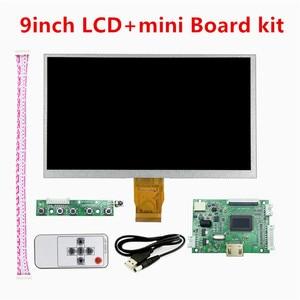 Mini placa controladora Monitor LCD TFT HDMI de matriz de pantalla de 9 pulgadas, 1024x600, controlador TTL, entrada para panel raspberry pi