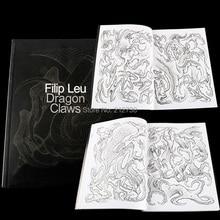 أحدث التنين مخالب الوشم تصاميم بواسطة Filip ليو الوشم كتاب هيئة الفن تصميم نمط قالب Shipping B5 مجاني