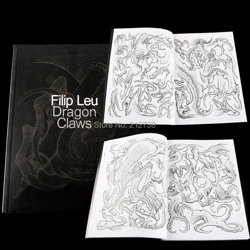 Newest Dragon Claws Tattoo Designs By Filip Leu Tattoo Book Body Art  Design Pattern Template Free Shipping-B5