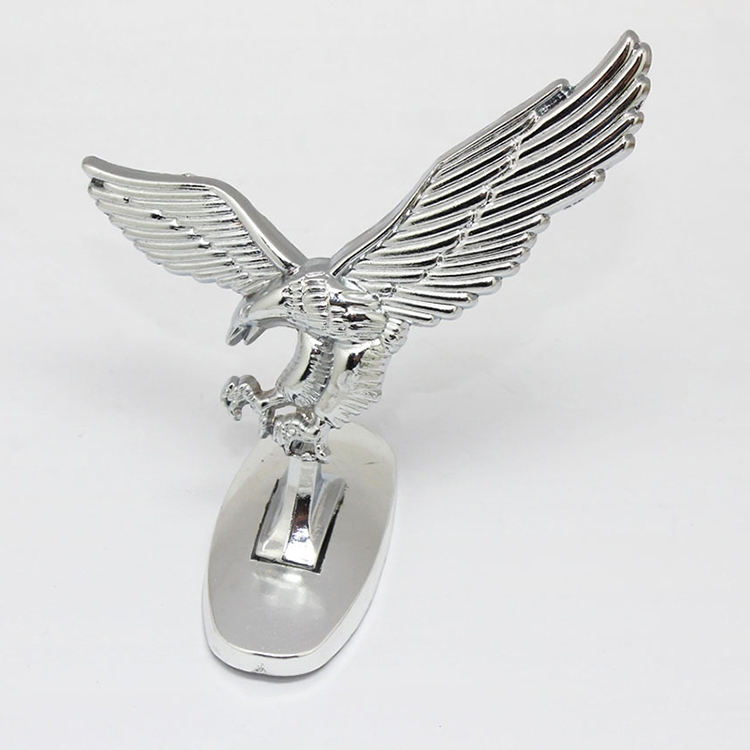High Quality Vintage Universal 3d Eagle Car Logo Front Cover Bonnet