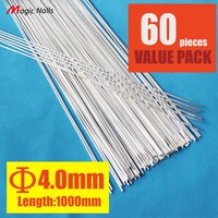 Pack Of 50 Low Temperature Rods 5356 Aluminum Tig Filler Welding Rods Wire Electrode AR 4