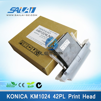 Made In Japan 100% Original outdoor printer KM1024LNB 42PL konica 1024 print head