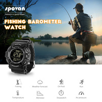 Altimeter Barometer Thermometer Altitude Mens Sport Digital Watches Climbing Hiking Wristwatch Clock Fashion Man Fishing Watch