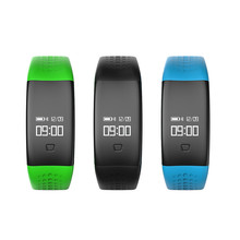 Bluetooth Smart Watch Wristband Bracelet Pedometer Three-axis Monitor Blood Pressure Fitness Health Sport Wterproof Swimming