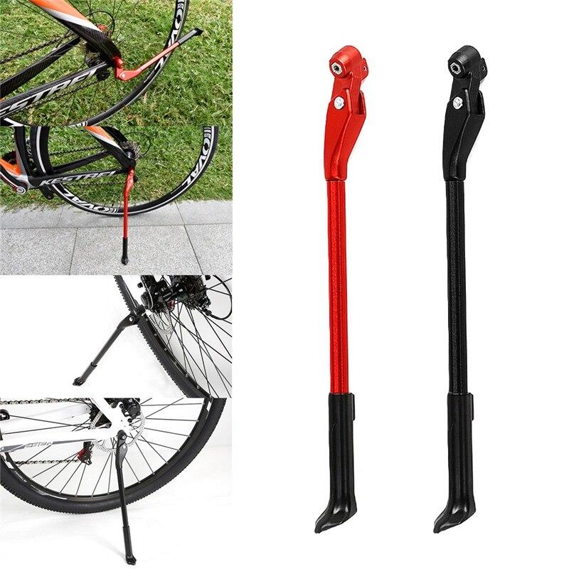 Regulowany stojak MTB Road Foot Brace Kickstand stopka rowerowa Mountain Bike Support Side Kick części rowerowe na 26/27. 5/29