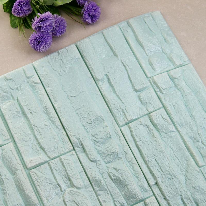 DIY 3D кирпичная ПЭ Пена наклейки на стену панели комнаты наклейка каменное украшение рельефная гостиная детская безопасная спальня домашний декор